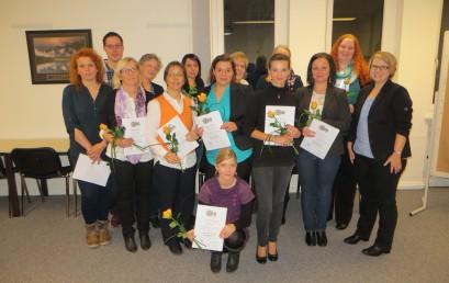 Wir gratulieren zum erfolgreichen Abschluss zur Verantwortlichen Pflegefachkraft!