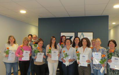 """Wir gratulieren zum erfolgreichen Abschluss der Weiterbildung zur """"Fachkraft Palliative Care""""!"""