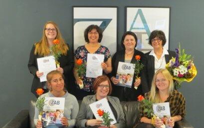 """Wir gratulieren zum erfolgreichen Abschluss der Weiterbildung """"Verantwortliche Pflegefachkraft""""!"""
