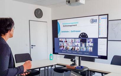 Corona: Online-Seminare im ZAB